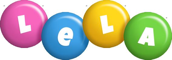 Lela candy logo