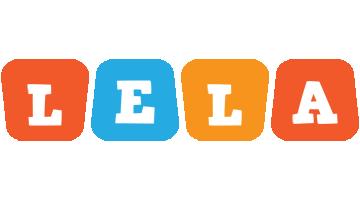 Lela comics logo