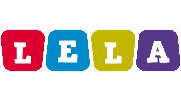 Lela daycare logo