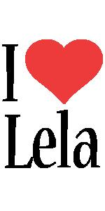 Lela i-love logo