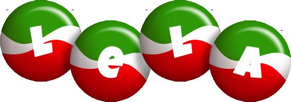 Lela italy logo