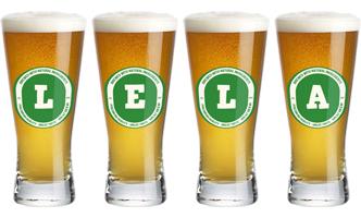 Lela lager logo