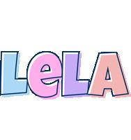 Lela pastel logo