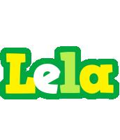 Lela soccer logo