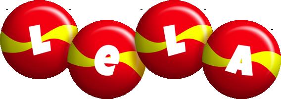 Lela spain logo