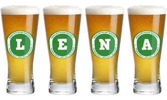 Lena lager logo
