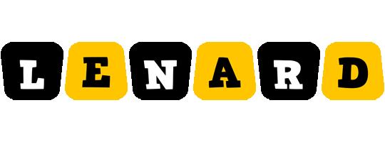 Lenard boots logo