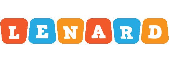 Lenard comics logo