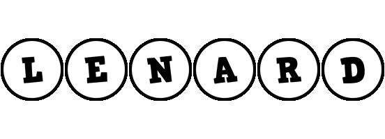 Lenard handy logo