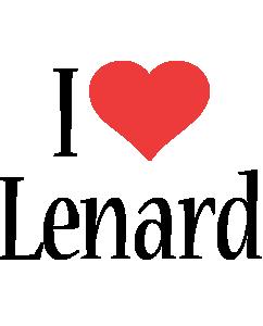 Lenard i-love logo