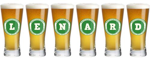Lenard lager logo