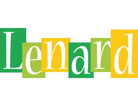 Lenard lemonade logo