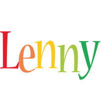 Lenny birthday logo