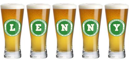 Lenny lager logo
