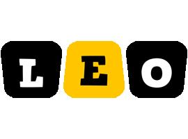 Leo boots logo
