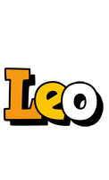 Leo cartoon logo
