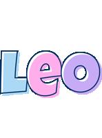 Leo pastel logo