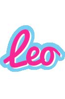 Leo popstar logo