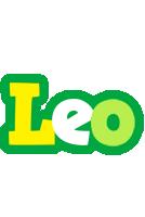 Leo soccer logo
