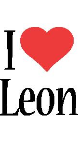 Leon i-love logo
