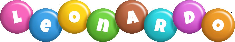 Leonardo candy logo