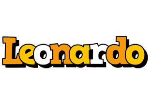 Leonardo cartoon logo