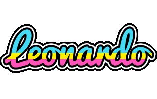 Leonardo circus logo