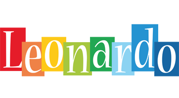 Leonardo colors logo