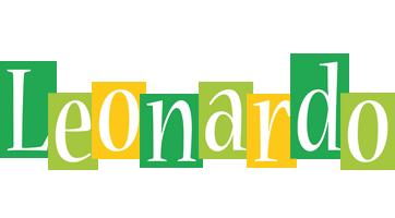 Leonardo lemonade logo