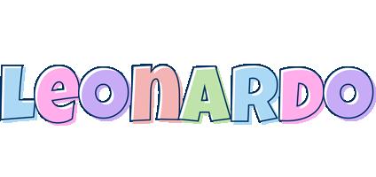 Leonardo pastel logo