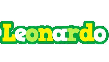 Leonardo soccer logo