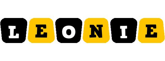 Leonie boots logo