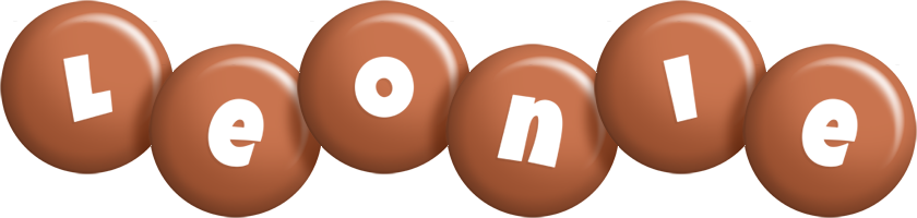 Leonie candy-brown logo