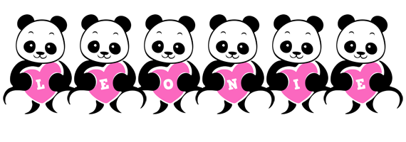 Leonie love-panda logo