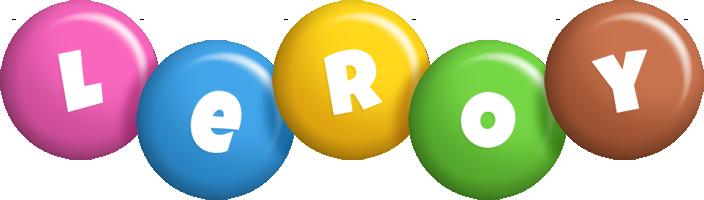 Leroy candy logo
