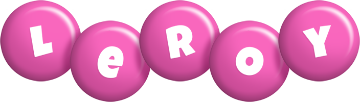 Leroy candy-pink logo