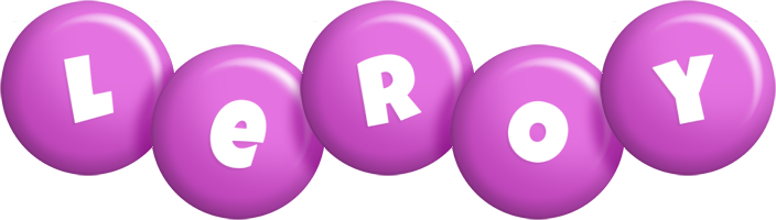 Leroy candy-purple logo