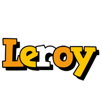 Leroy cartoon logo