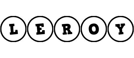 Leroy handy logo