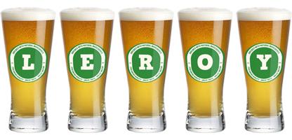 Leroy lager logo