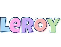 Leroy pastel logo