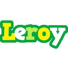 Leroy soccer logo
