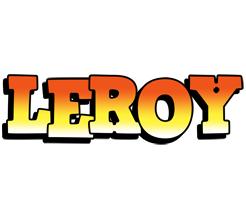Leroy sunset logo