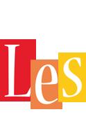 Les colors logo