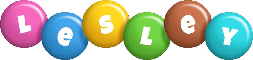 Lesley candy logo