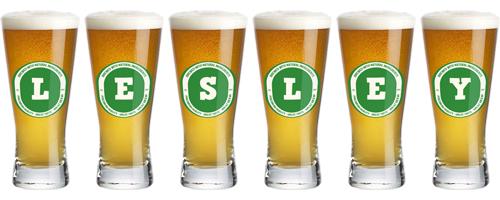 Lesley lager logo