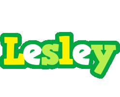 Lesley soccer logo