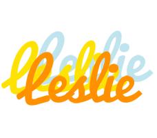 Leslie energy logo