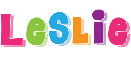 Leslie friday logo
