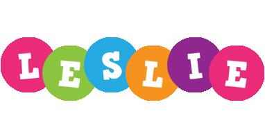 Leslie friends logo